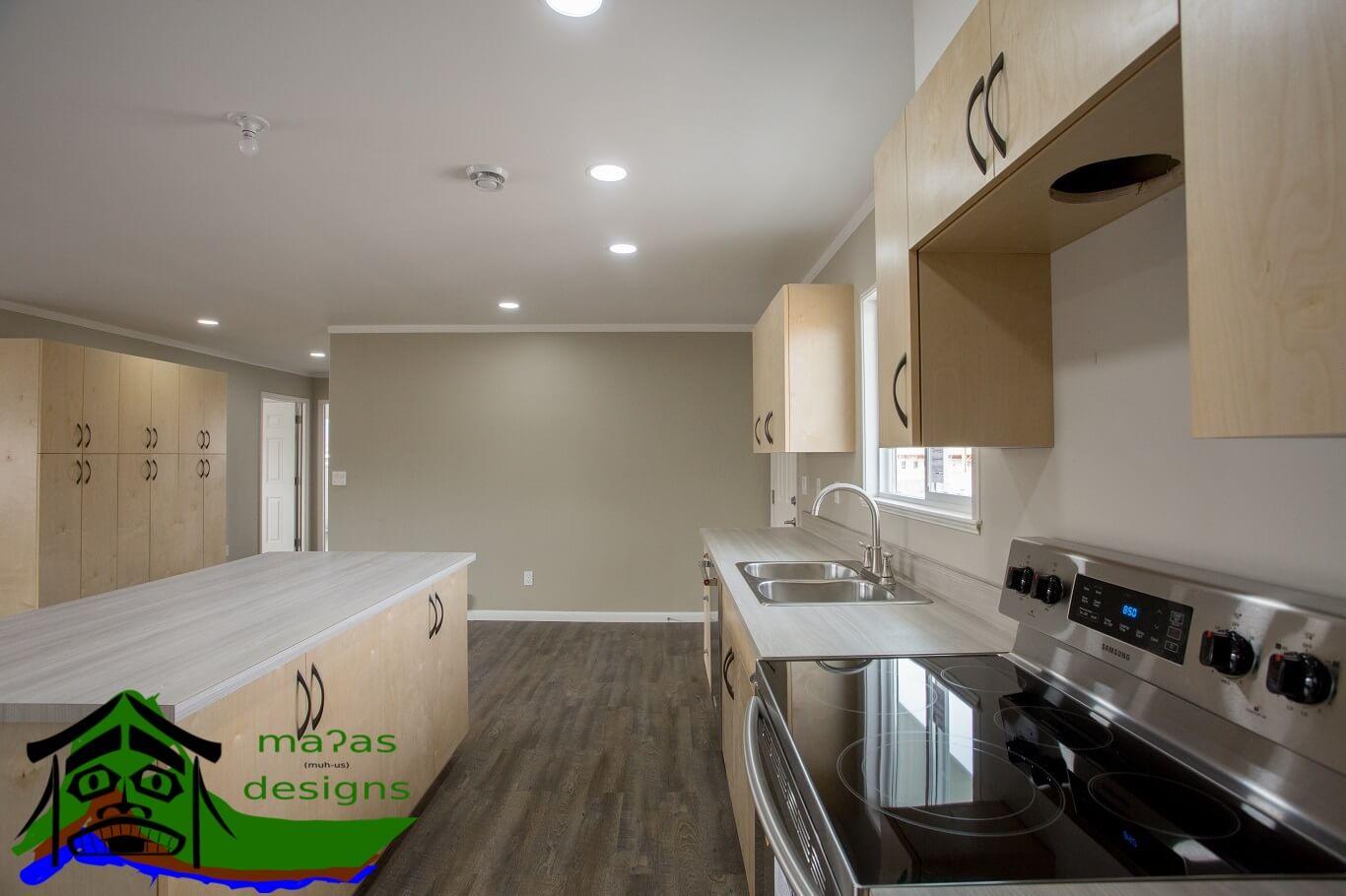 kitchen prefab home design